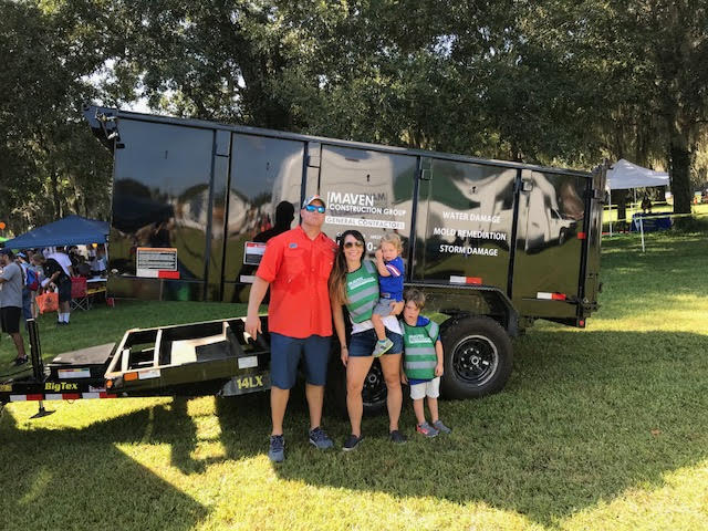Maven Construction Group Joins The 9th Annual Fun 4 Gator Kids Touch-A-Truck Event