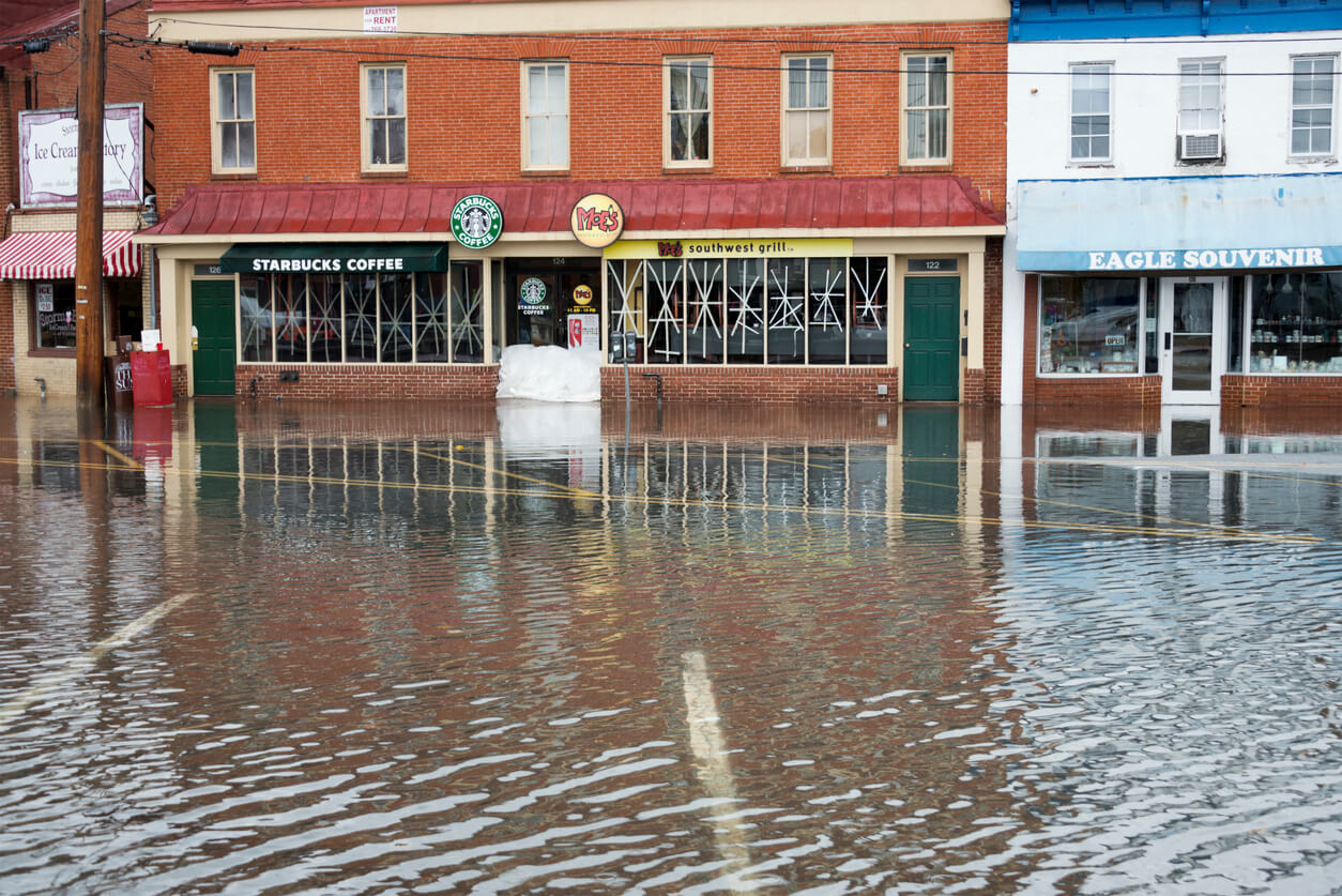 What To Do If Your Storefront is Damaged By A Storm